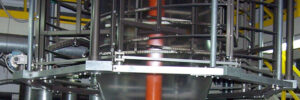 Burbuja a la salida de una extrusora de film de PE