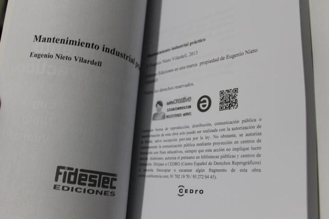 Vista de las páginas con el libro abierto