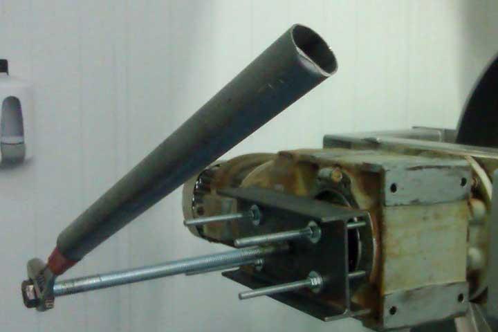 Extractor con palanca