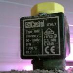 Electroválvula derivada en instalación frigorífica