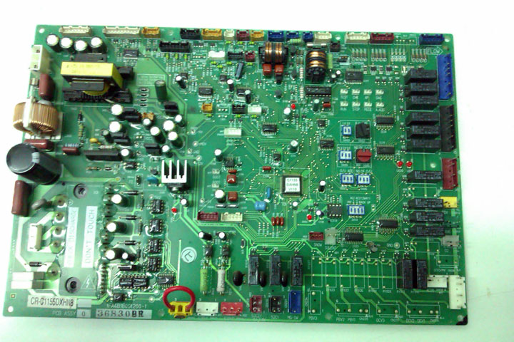 Cómo reparar una placa electrónica de aire acondicionado