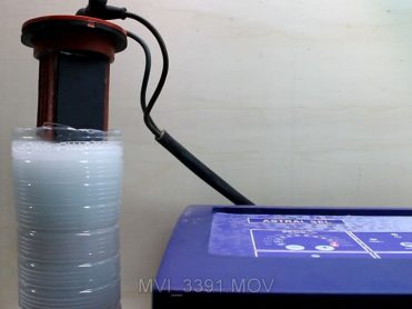 Electrólisis en un clorador salino