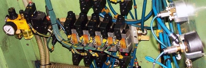 Unidad de mantenimiento en isla de electroválvulas
