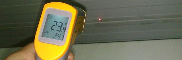 Mantenimiento predictivo - Medición de temperatura