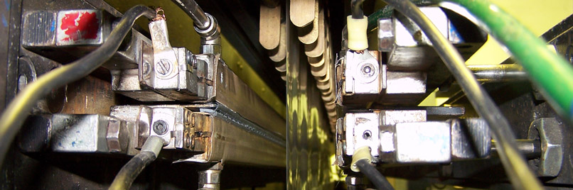 Reparas máquina de corte de polietileno