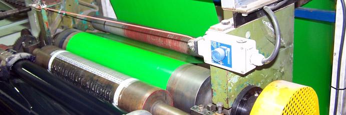 Reparar máquinas impresoras de polietileno