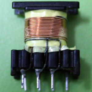 Bobinado de un transformador de pulsos