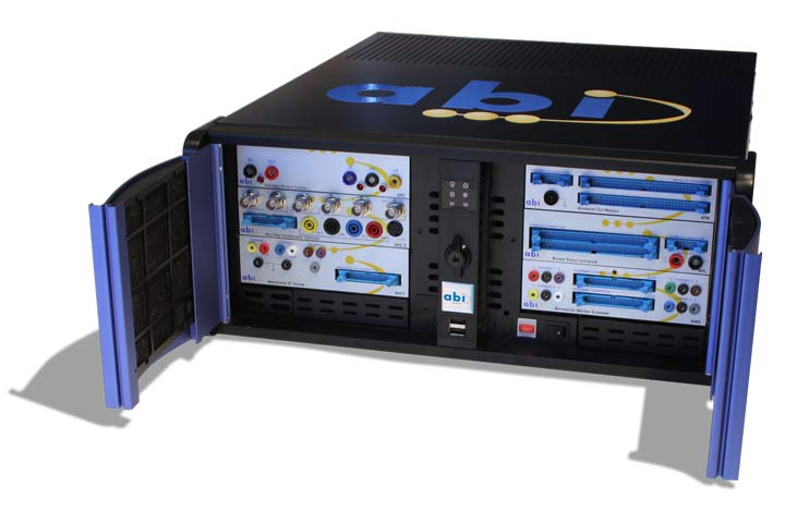 Laboratorio para reparación electrónica de ABI Electronics
