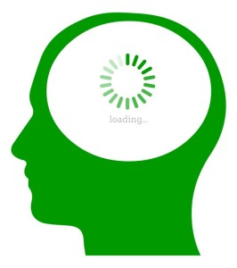 Cerebro desfragmentándose