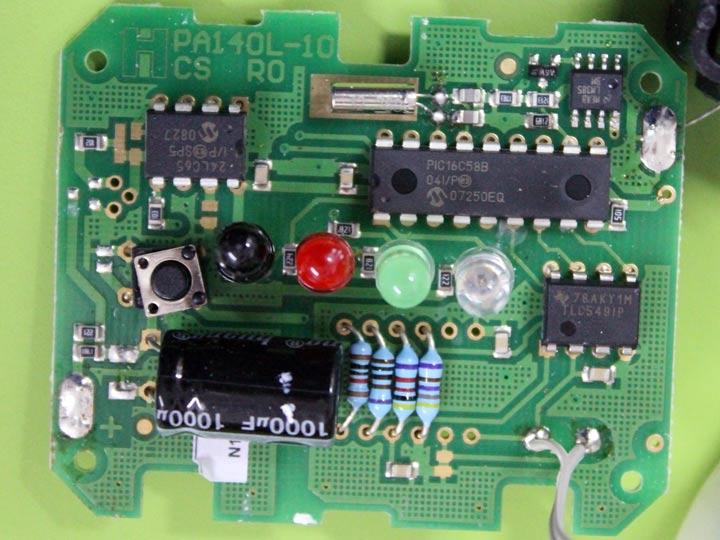 Circuito con microcontrolador PIC