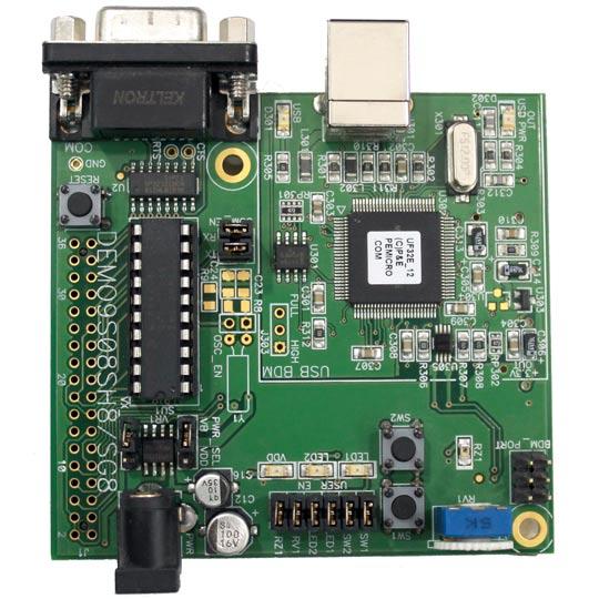 Placa de evaluación de microcontrolador Freescale