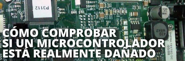 Comprobar microcontrolador