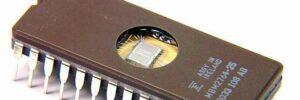 Chip de memoria EPROM