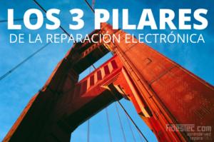 Los 3 pilares de la reparación electrónica