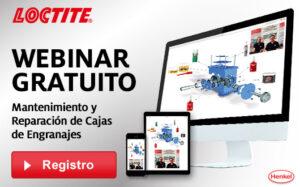 Webinar LOCTITE mantenimiento y reparación de cajas de engranajes