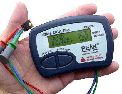 Medidor de semiconductores Peak