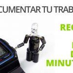 Cómo documentar tu trabajo: la regla de los dos minutos