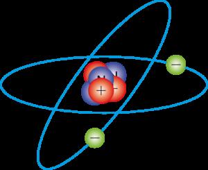 Electrónica básica - átomo con carga positiva