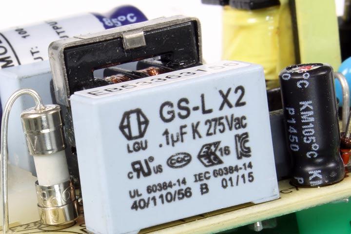 Condensador de seguridad X2