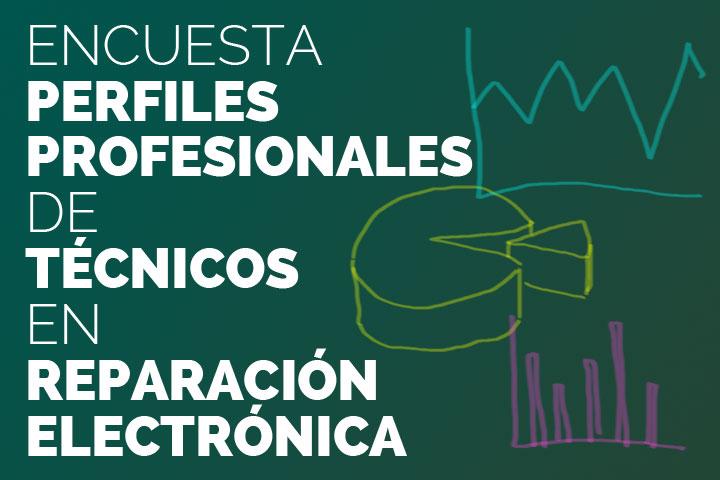 Perfiles profesionales de técnicos en reparación electrónica - Portadilla