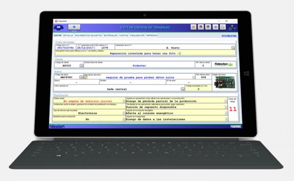 FidesGeM aplicación para la gestión de talleres - Portada
