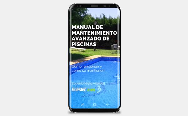 Portada del Manual de mantenimiento avanzado de piscinas