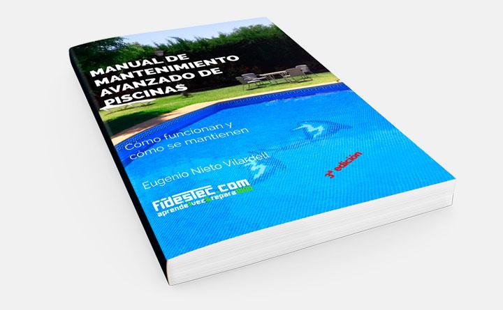 Manual de mantenimiento avanzado de piscinas - Portada