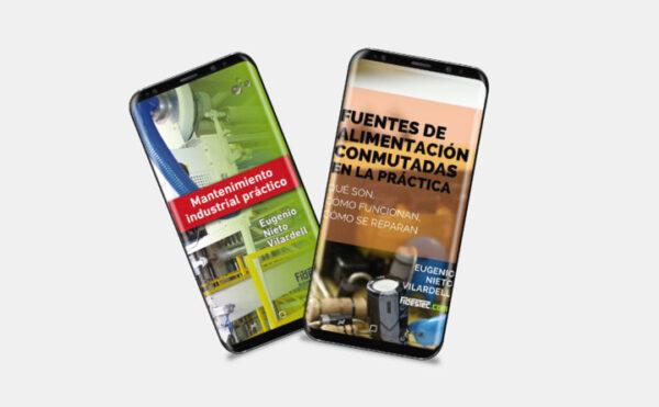 Ebook Fuentes de alimentación conmutadas en la práctica y Mantenimiento industrial práctico