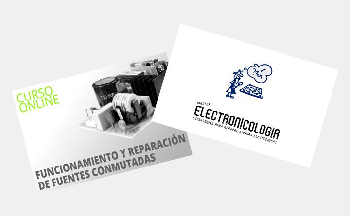 Cursos funcionamiento y reparación de fuentes conmutadas y máster en electronicología pack