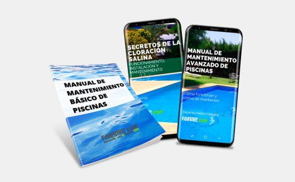 Pack libros mantenimiento piscinas y cloración salina