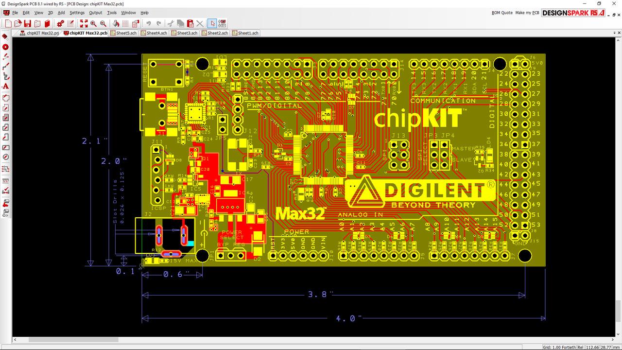 Design Spark PCB circuito impreso