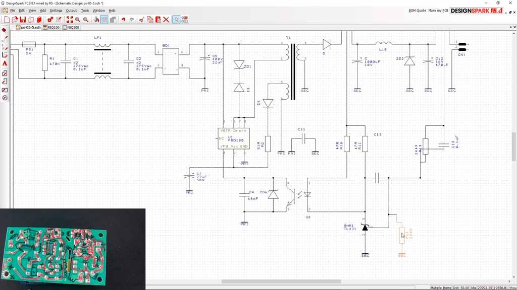 Cómo dibujar el esquema de una placa electrónica