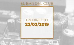 El bar del Club - Emisión en directo exclusiva para el Club de electronicología