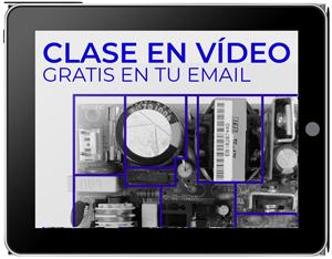 Clase en vídeo gratuita con trucos para identificar las secciones de una fuente conmutada