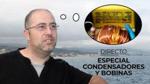 Directo especial bobinas inductores y condensadores capacitores